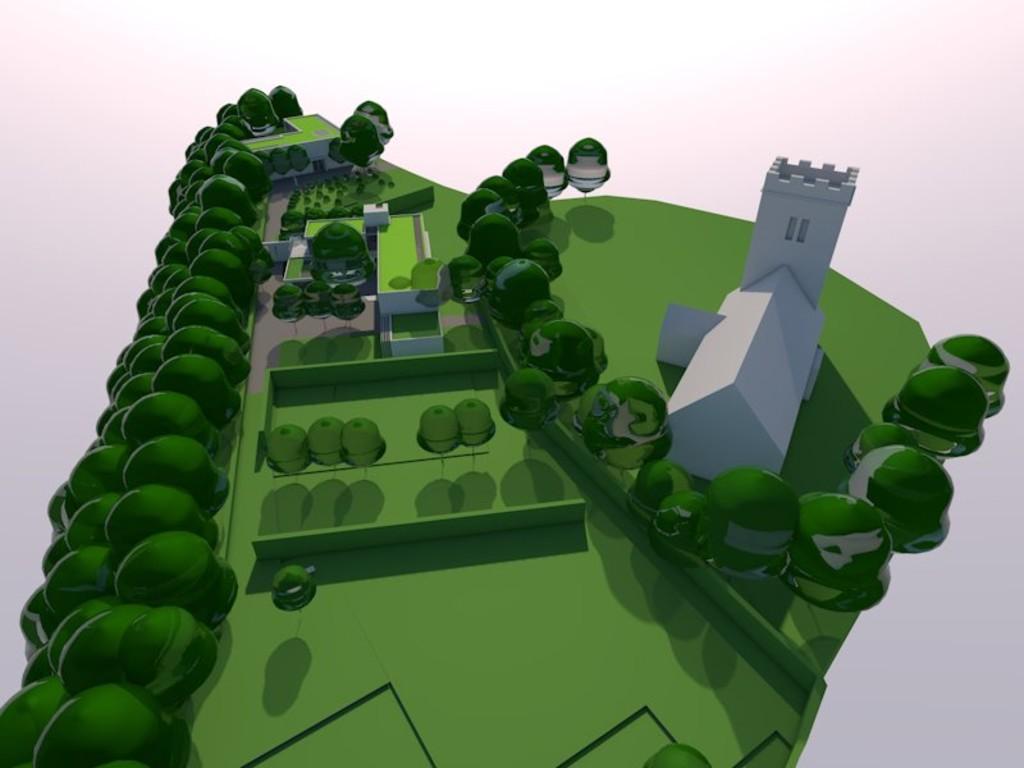 Image 1 Land adjacent to St Edeyrns Church