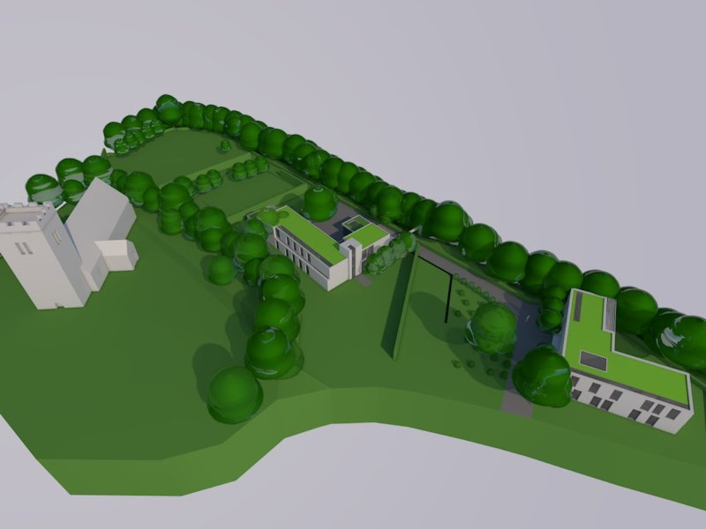 Image 2 Land adjacent to St Edeyrns Church