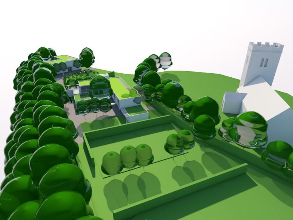 Image 4 Land adjacent to St Edeyrns Church