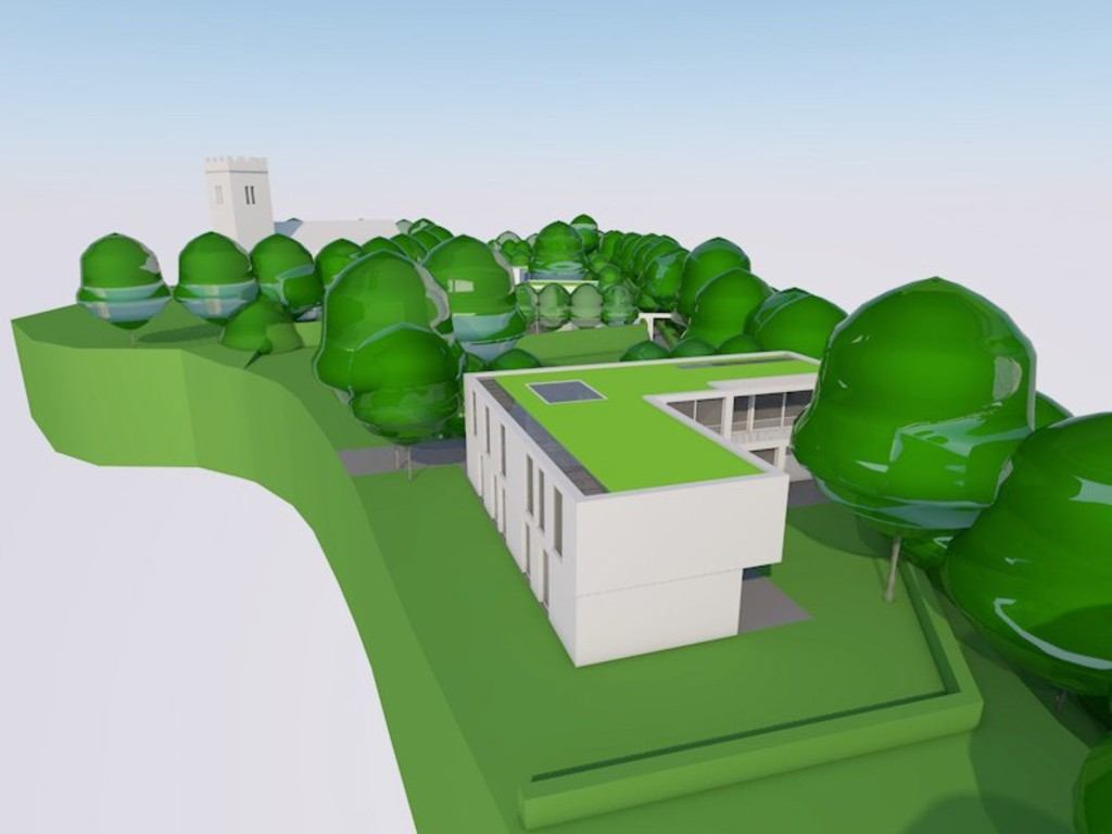 Image 5 Land adjacent to St Edeyrns Church