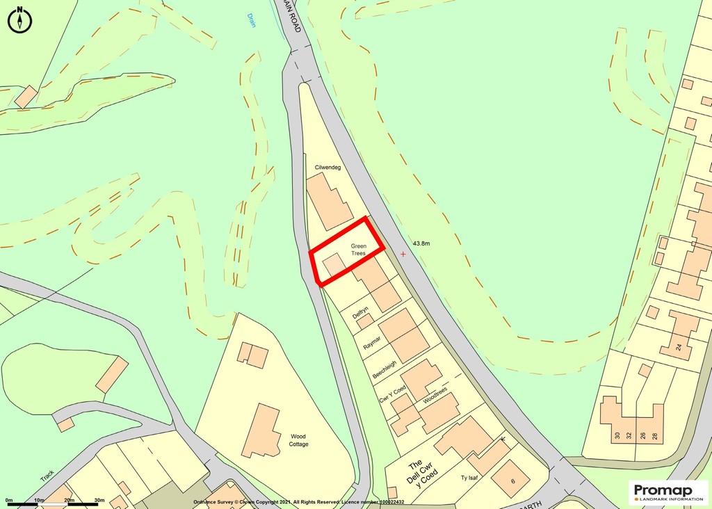 Image 0 Plot of Land, Main Road, Gwaelod-y-garth
